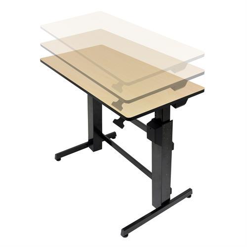 Standing Desk WorkFitD AdjustableHeight Stand Up Desk Ergotron