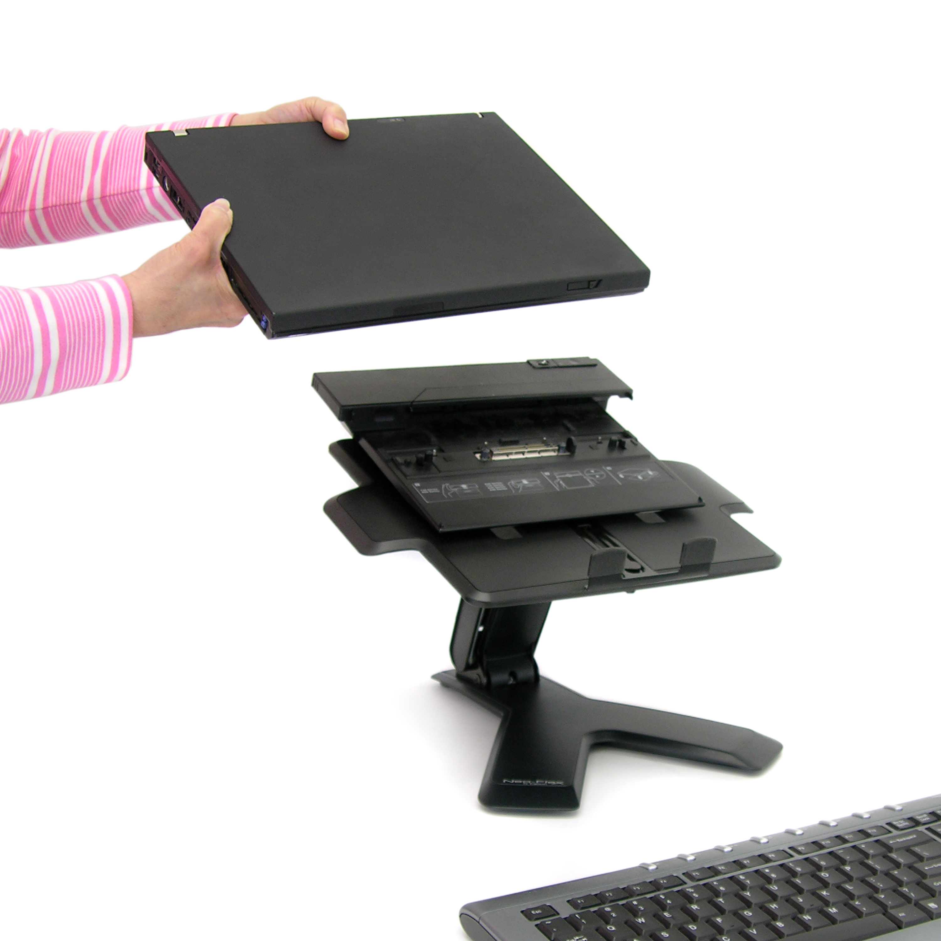 lap right tray retractable slip mouse notebook portable itm non sturdy desk tablet pad stable stand laptop w table computer shield abovetek heat left