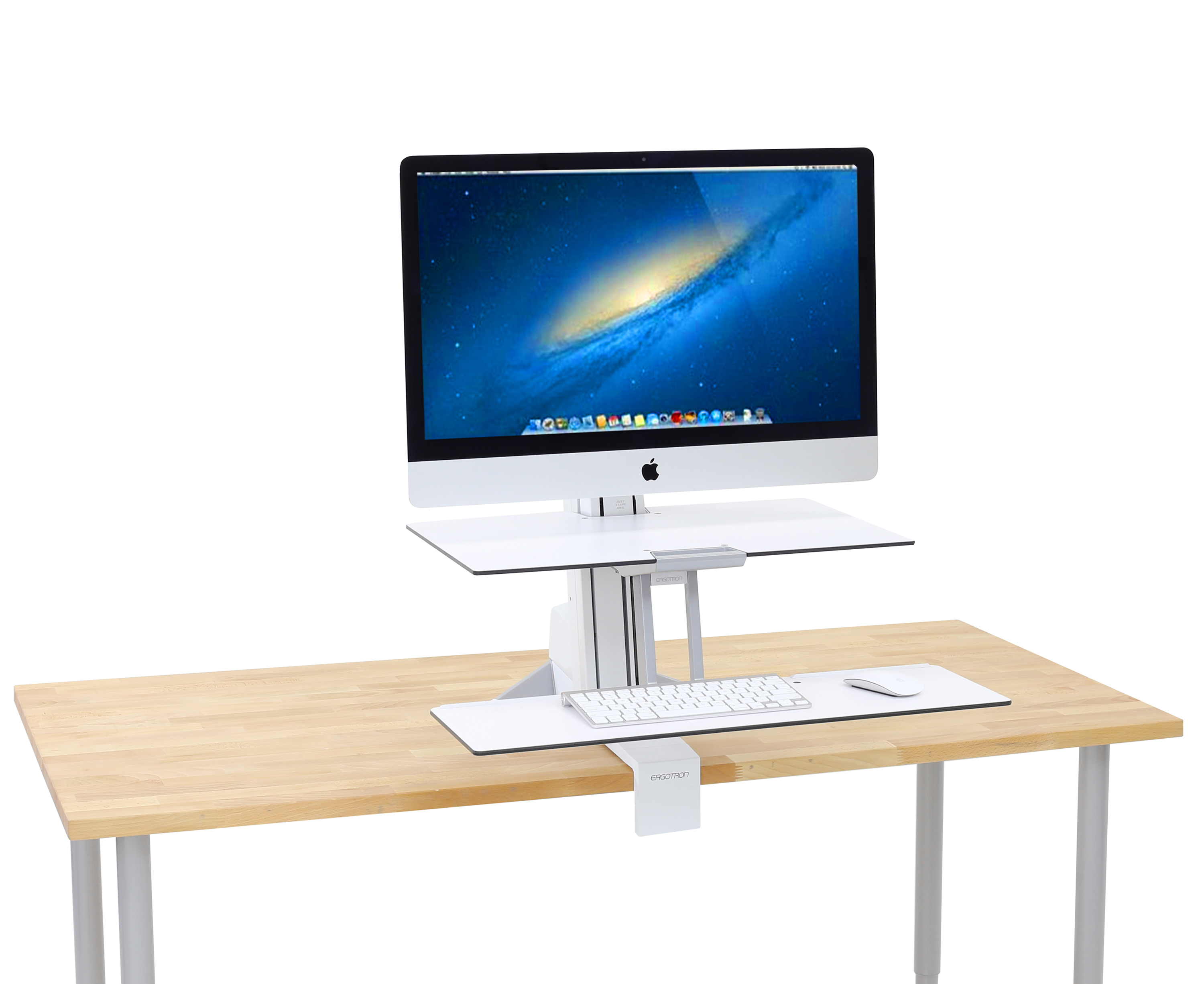 wide store bk standing converter inch desk up stand model