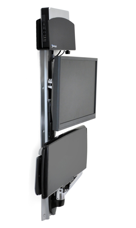 Wall Mount Computer Monitor And Keyboard Wall Designs