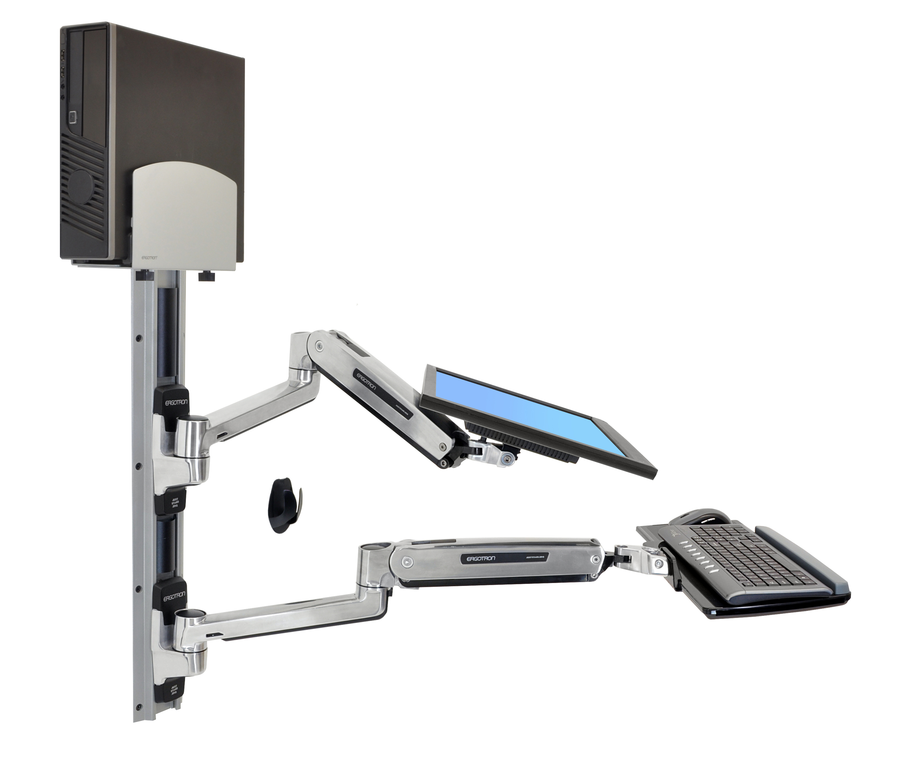 Ergotron Sit Stand Desk Mount Hostgarcia