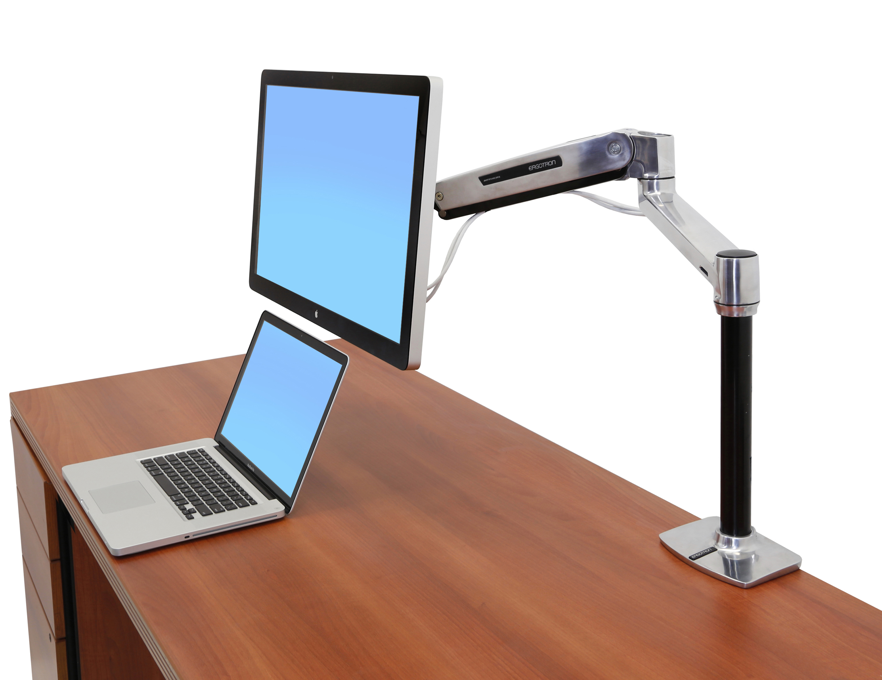Workfit Lx Sit Stand Desk Mount System Stand