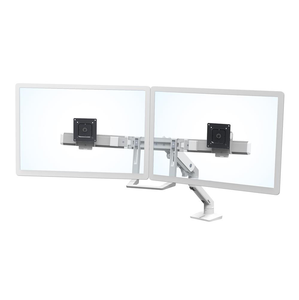 HX臺式雙配置監視器支臂 (亮白)45-476-216