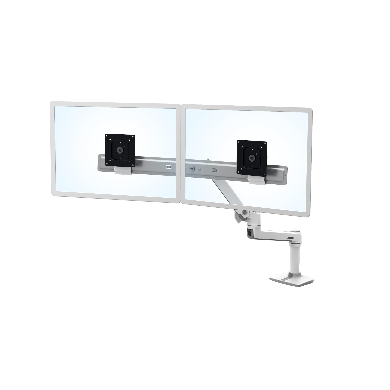 lx desk dual direct arm ergotron