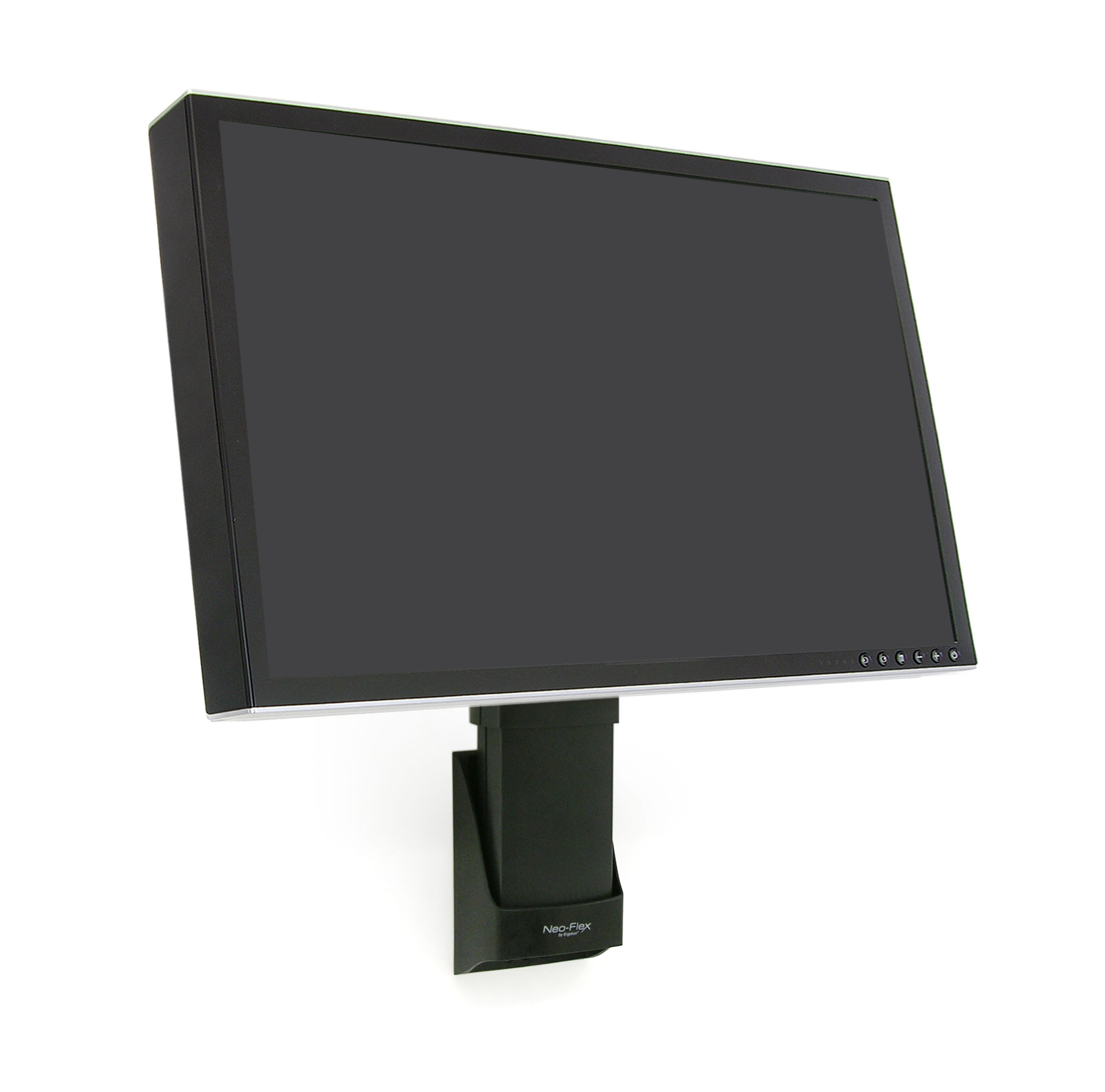 """Black 27/"""" To 42/"""" Screen Support Ergotron Wall Mount For Flat Panel Display"""