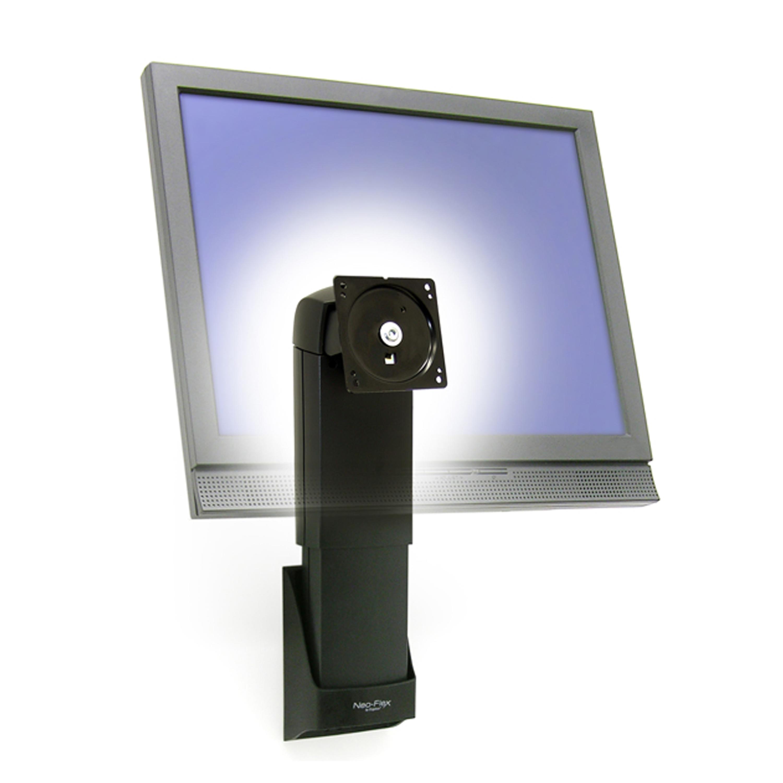 inch black led mount celling tilt ceiling tv plasma bracket bk lcd