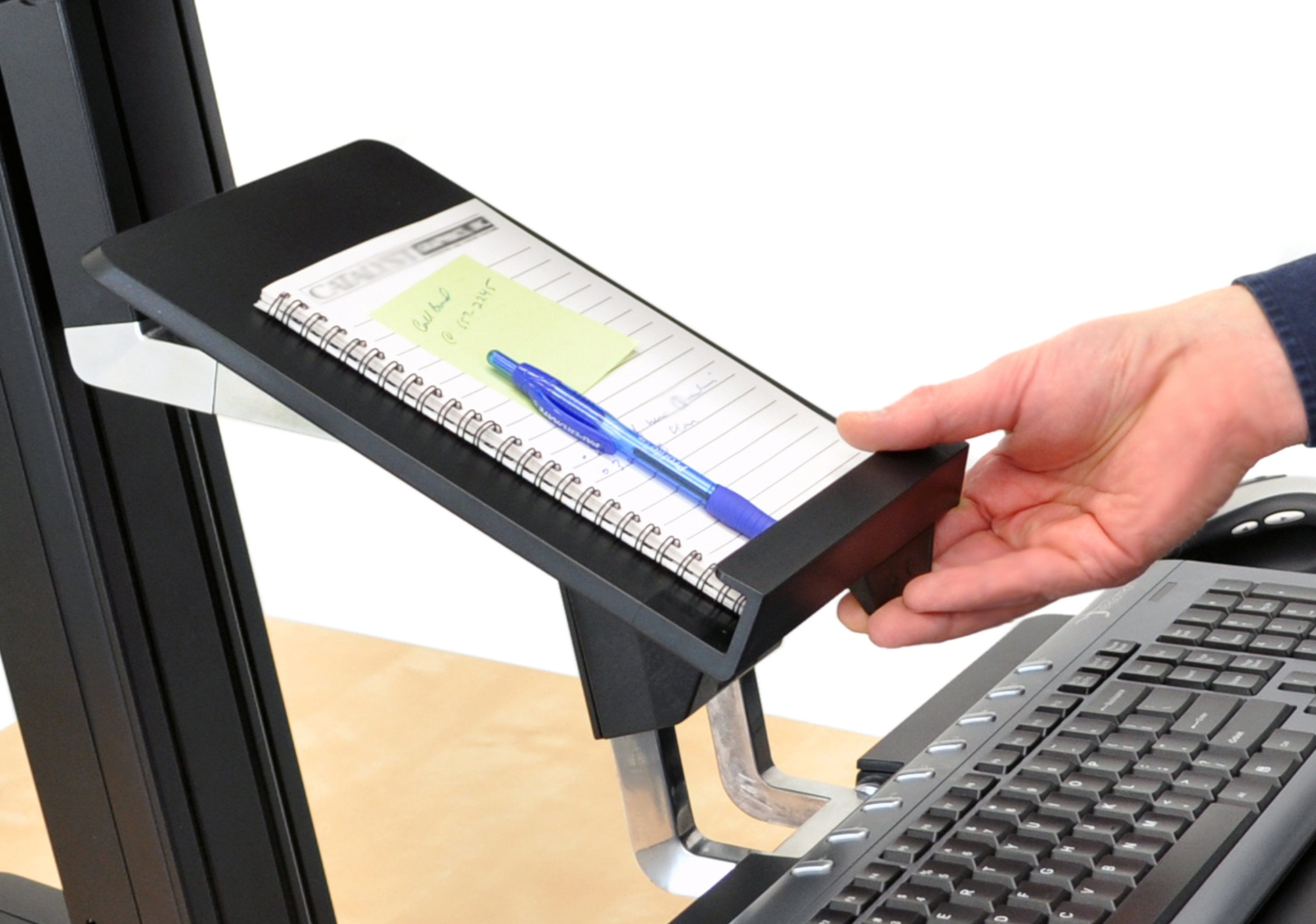 Ordinaire Tablet/Document Holder For WorkFit S