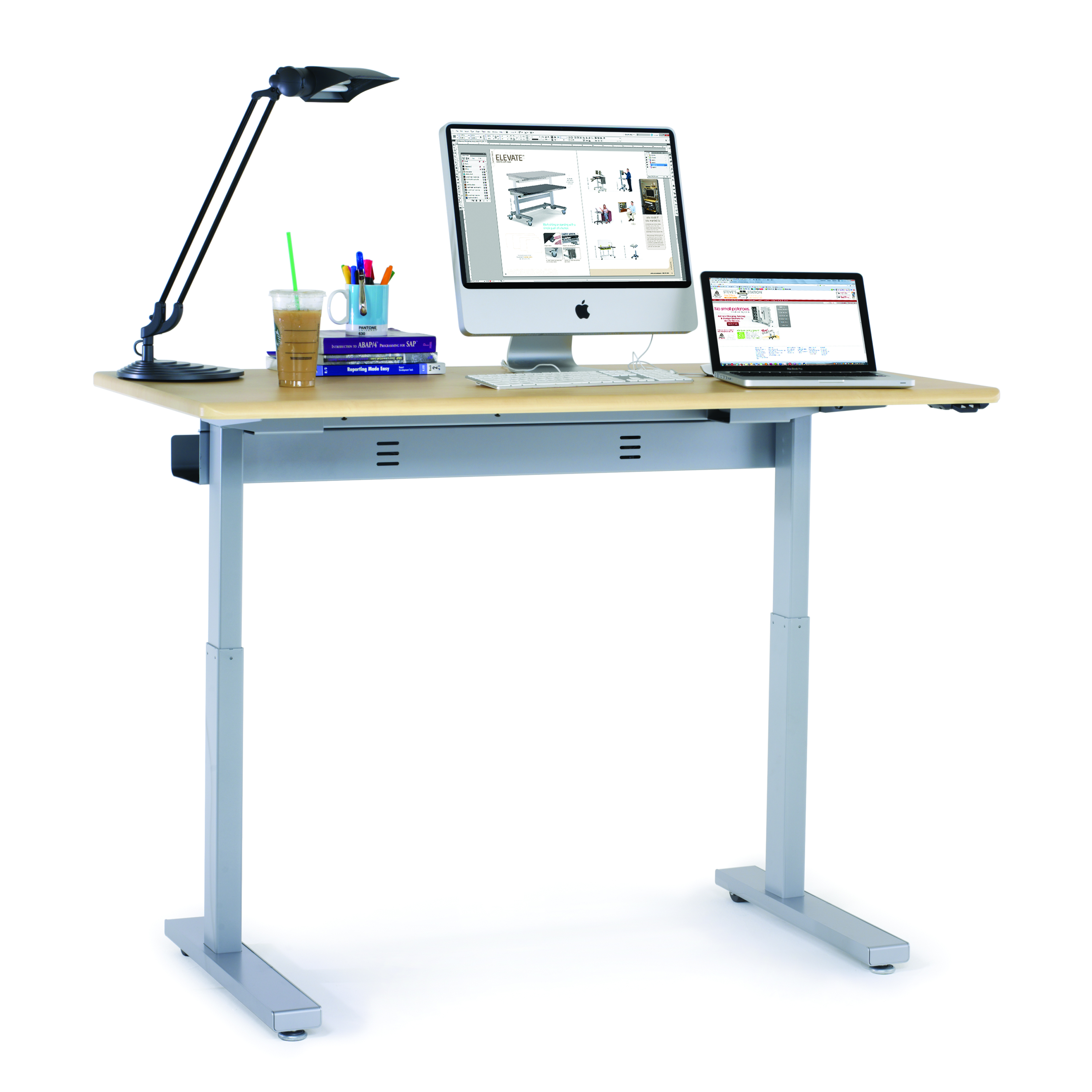 Electric Adjustable Standing Desk Best Home Design 2018