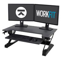 WorkFit-TL sit stand desk converter